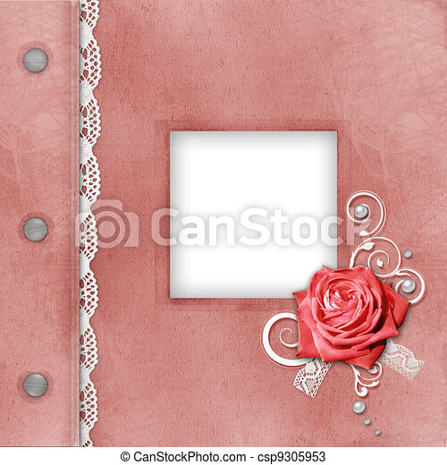 Cover Of Pink album for photos  - csp9305953
