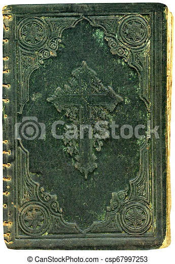 Cover of the Bible. - csp67997253