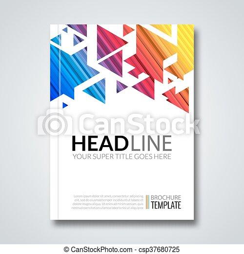 prospectus design template