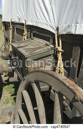 Covered Wagon - csp4740547