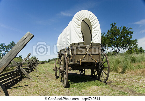 Covered Wagon - csp4740544