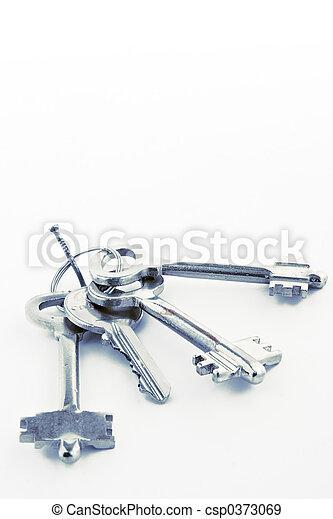 covone, chiavi, chiodo - csp0373069