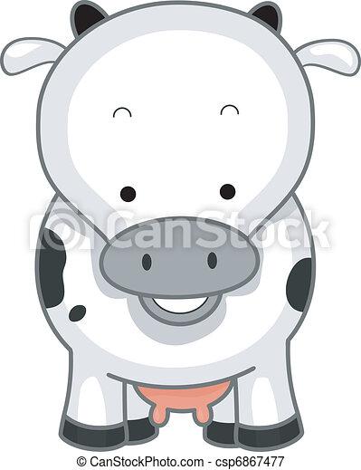 Cow - csp6867477