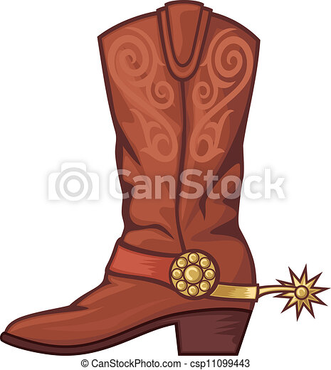 cowboy boot illustrations and clip art 2 941 cowboy boot royalty rh canstockphoto com cowboy boots clipart png cowboy hat boots clipart