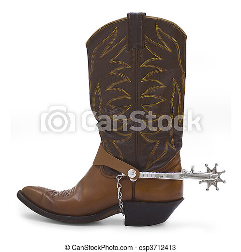 cowboy boot - csp3712413