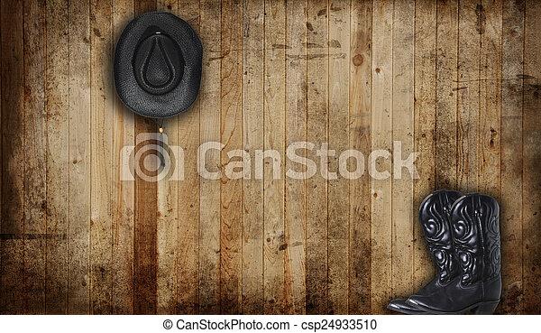Cowboy boots - csp24933510