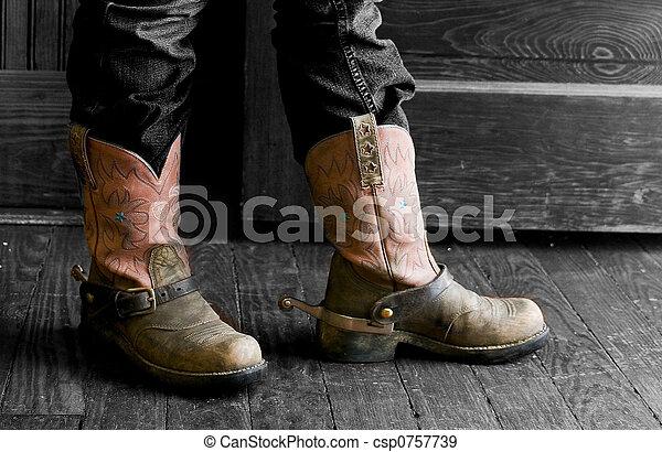 cowboy boots - csp0757739