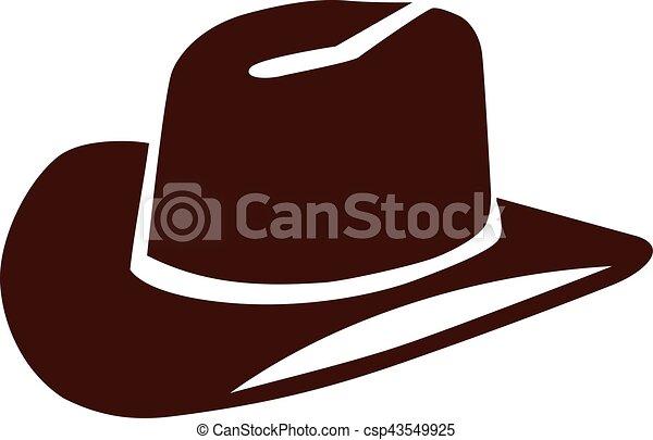 Cowboy hat - csp43549925