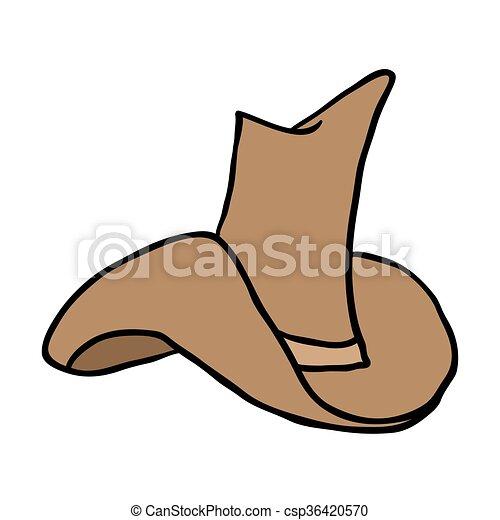 cowboy hat - csp36420570