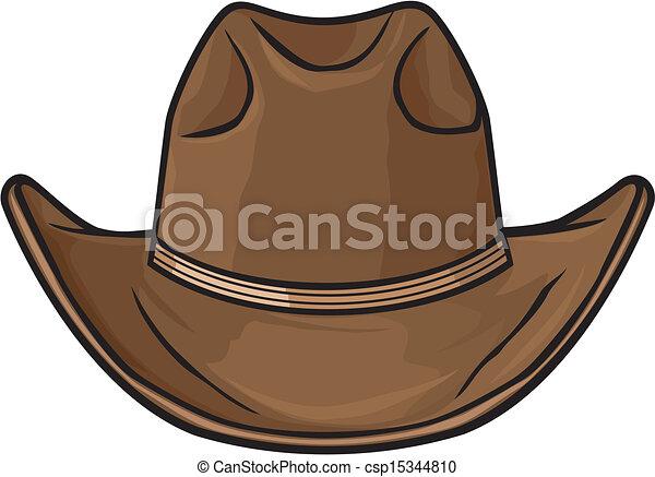 cowboy hat - csp15344810