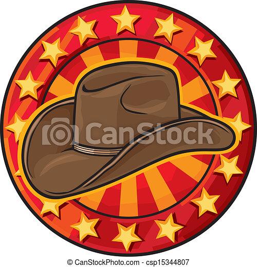 cowboy hat - csp15344807