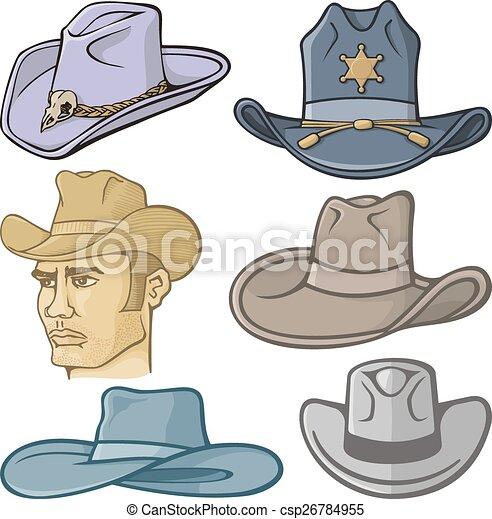 Cowboy hats - csp26784955