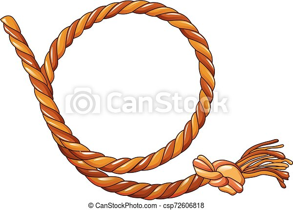 cowboy rope icon, cartoon style. cowboy rope icon. cartoon of cowboy rope  vector icon for web design isolated on white | canstock  can stock photo