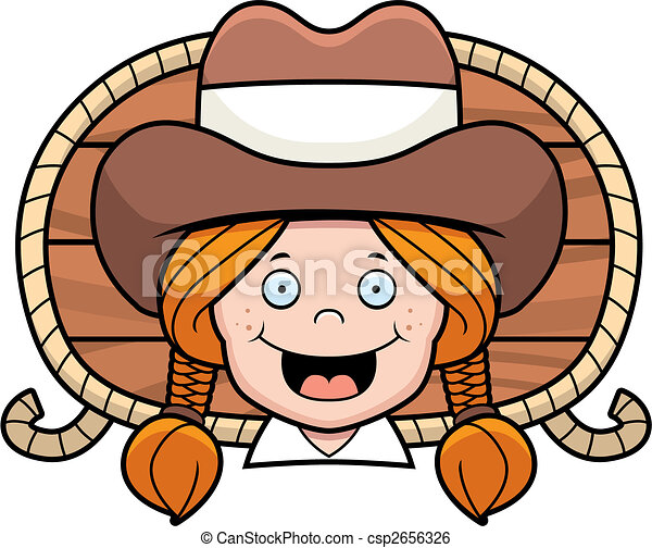 a cartoon cowgirl smiling clip art vector search drawings and rh canstockphoto com free clipart cowgirl hat free vintage cowgirl clipart