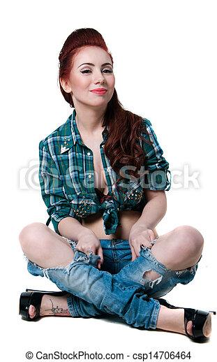 Cowgirl Stil Hubsch