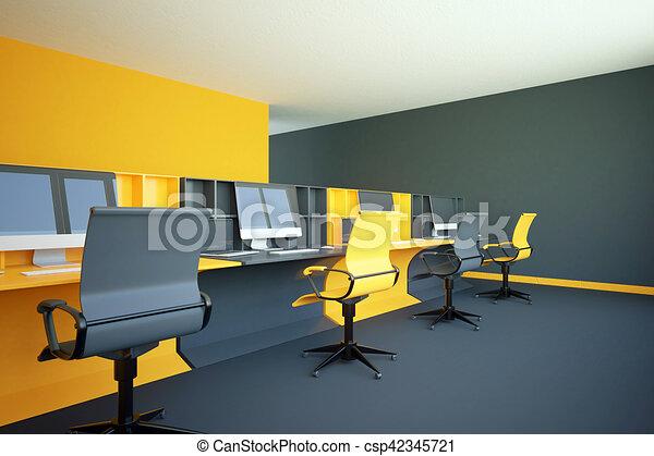 Coworking jaune bureau bureau jaune rendre coworking