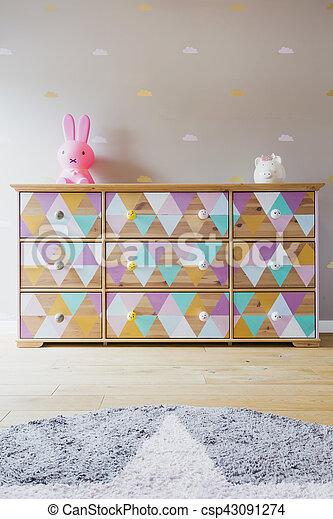 Cozy child's room - csp43091274