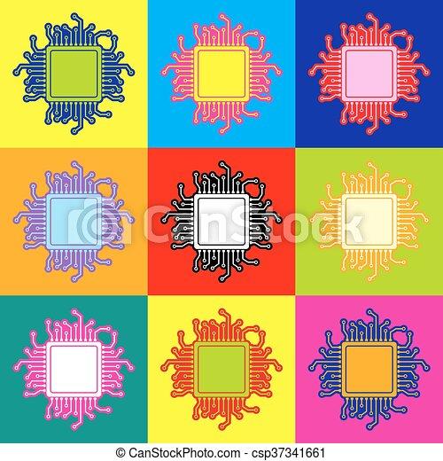 CPU Microprocessor - csp37341661