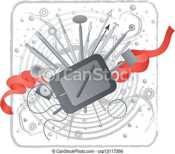 créativité, illustrator/designer's, kit. - csp12117266