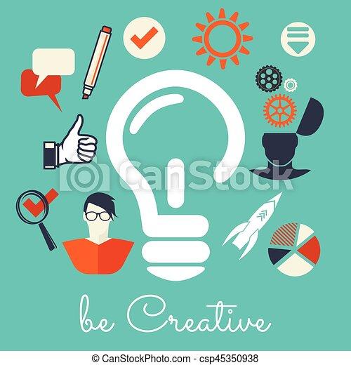 créativité - csp45350938