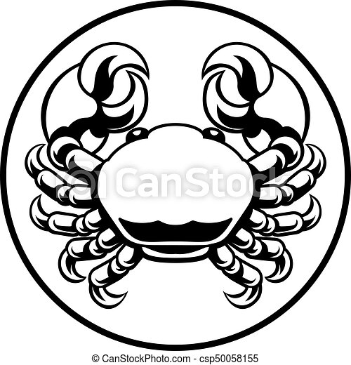 Crab Cancer Zodiac Horoscope Sign Cancer Crab Horoscope Astrology