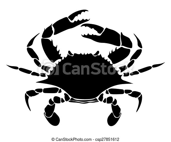 crab vector image of rab on white vector clip art search rh canstockphoto com crab vector silhouette crab vector art free