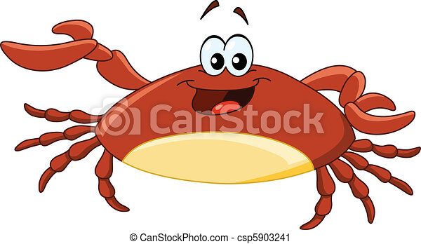 cartoon crab vector clip art search illustration drawings and rh canstockphoto com crab vector art free crab vector png