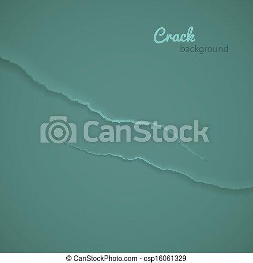 Crack background - csp16061329