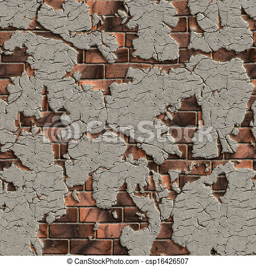 cracked brick wall seamless tileable texture brown brick wall with