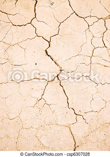 cracked dried mud - csp6307028