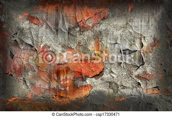 Cracked surface - csp17330471
