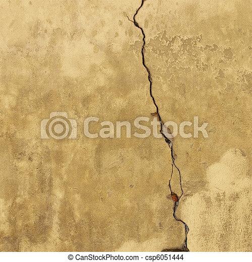 Cracked Wall - csp6051444