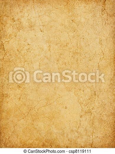 Cracked Yellow Paper - csp8119111