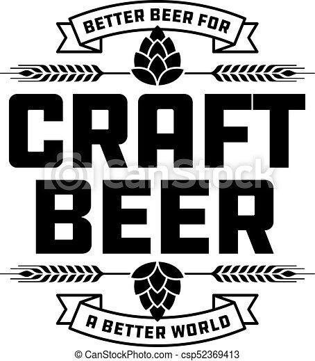 craft beer badge or label craft beer vector design features wheat rh canstockphoto com beer vector download beer vector mechanics dynamics