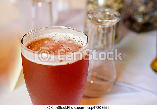 Craft Beer Ipa At Wedding Reception Craft Beer Ipa In A Pint Glass