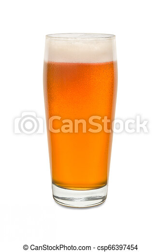Craft Pub Glass with Beer #1 - csp66397454