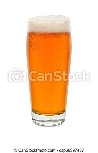 Craft Pub Glass with Beer #4 - csp66397457