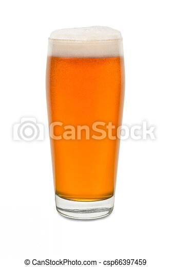 Craft Pub Glass with Beer #5 - csp66397459