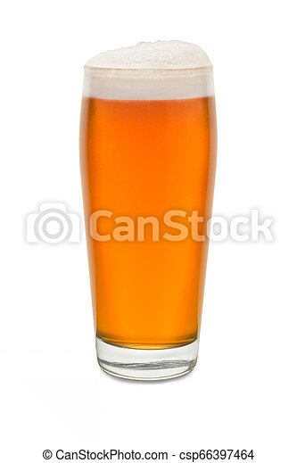 Craft Pub Glass with Beer #8 - csp66397464