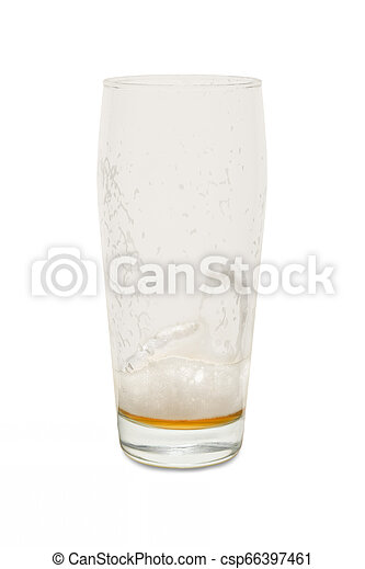 Craft Pub Glass with Empty Glass #1 - csp66397461