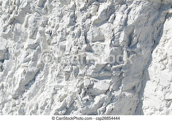 craie, naturel, minéral - csp26854444