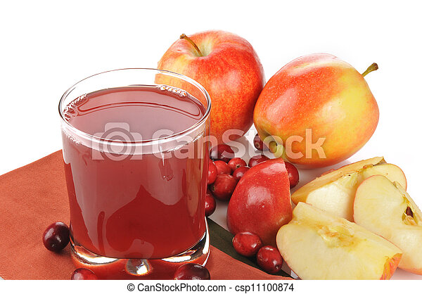 Cranberry apple juice - csp11100874
