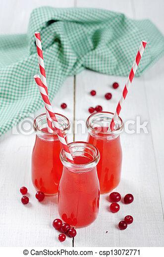 Cranberry juice - csp13072771