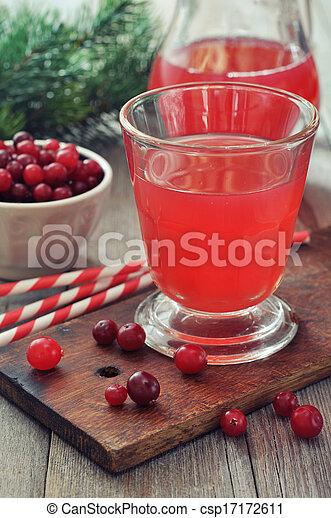Cranberry juice - csp17172611