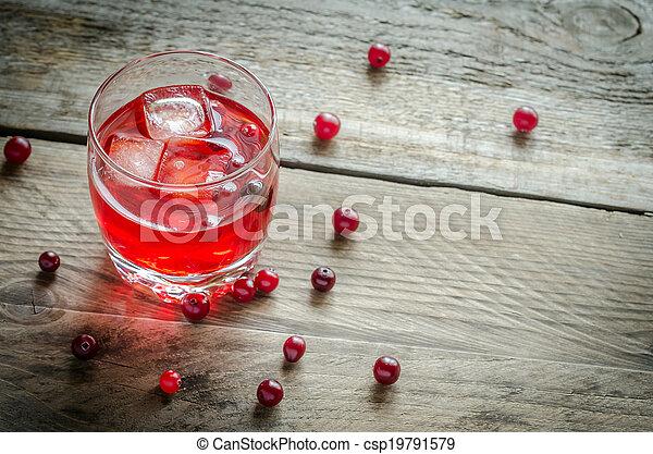 Cranberry juice - csp19791579