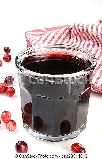 Cranberry juice - csp23514613