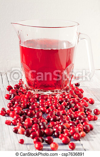 Cranberry Juice - csp7636891