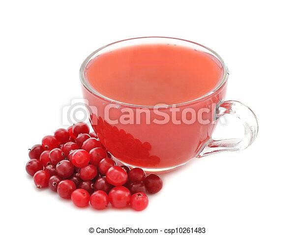 cranberry juice - csp10261483