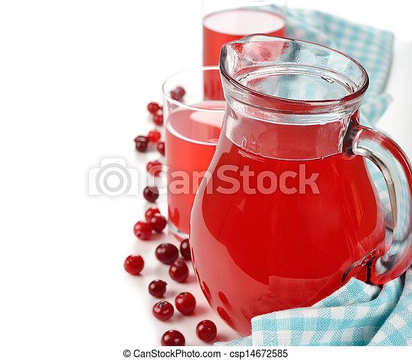 Cranberry juice - csp14672585