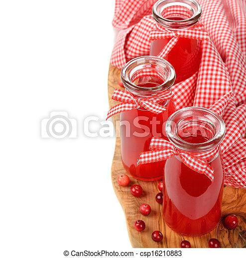 cranberry juice - csp16210883